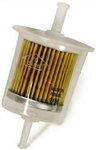 9.802-211.0 Inline Disposable Plastic Gasoline Fuel Filter 1/4 Inch