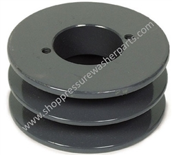 2BK60H Cast Iron Pulley Sheave 9.802-387.0