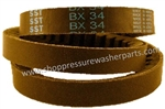 9.802-414.0 Pressure Washer BX34 Super Gripnotch V-Belt