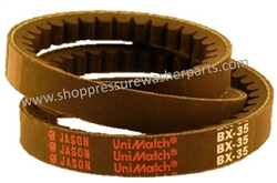 9.802-415.0 Pressure Washer BX35 Super Gripnotch V-Belt
