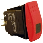 9.802-452.0 Green Lighted Rocker Switch for Hotsy Pressure Washer Pump Control