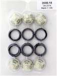 Hotsy, Landa, Karcher and Legacy Pressure Washer Pump Valve Repair Kit 9.802-604.0, replaces part 70-260018