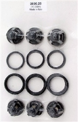 Hotsy, Landa, Karcher and Legacy Pressure Washer Pump Valve Repair Kit 9.802-608.0, replaces 70-260025