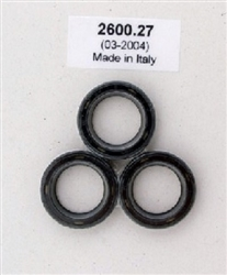 Pressure Washer Pump Plunger Oil Seal Kit 9.802-609.0 for Hotsy, Landa, Karcher and Legacy Pumps, Replaces 70-260027