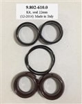 9.802-610.0 Karcher Pressure Washer Pump Seal Repair Kit, also used in Hotsy and Landa pumps