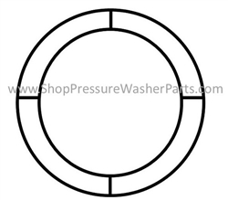 Hotsy Insulation Retainer Ring 16 inch 9.803-108.0