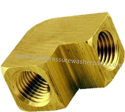 "9.803-265.0 Brass Elbow 1/2"" FPT"
