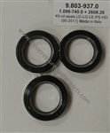 Hotsy Pressure Washer Pump Plunger Oil Seal Kit 9.803-937.0, for use on Hotsy, Landa, Karcher and Legacy pumps