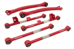 Trailing Arms, Lateral Arms (RF+RR) Combo Kit