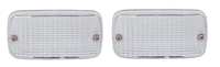 Mercedes Reverse Light Lenses, Pair New ULO W123 Wagon 240TD, 230T, 230TE, 280TE, 300TD