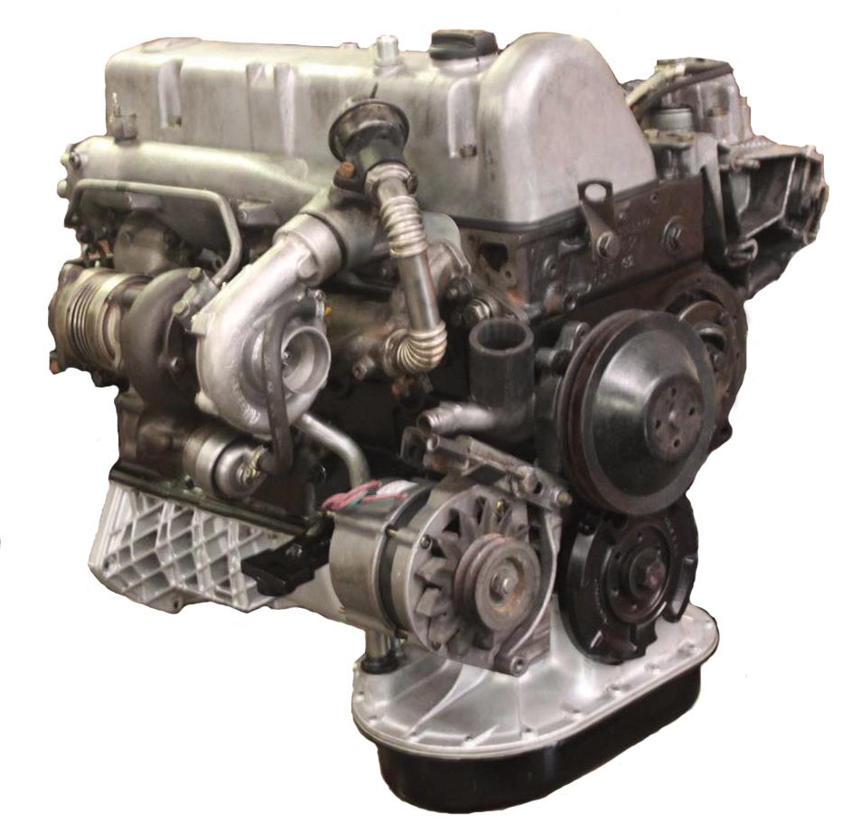 Mercedes OM617 30L TurboDiesel Motor REBUILT