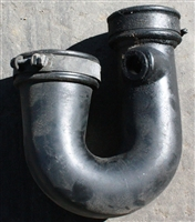 Mercedes Air Intake U Boot OM617 Turbo Diesel Short Style W116 W123 W126 300CD, 300D, 300TD, 300SD