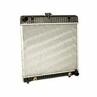 Mercedes Radiator New Behr OM615 OM616 OM617 NA Diesel M110 M115 Gas W123 Coupe Sedan Wagon W126 280SE 280SEL