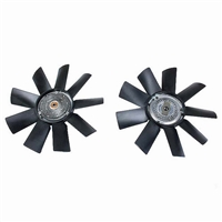 Mercedes Engine Cooling Fan w/ Clutch New Meyle OM602 OM603 Turbo Diesel W124 W126 W140 W201 W460 G-Wagen