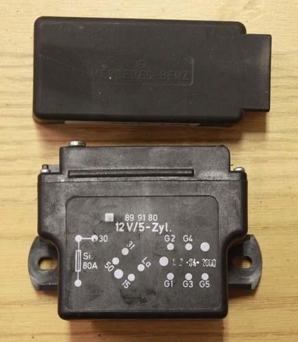 Glow Plug Relay OM617 Diesel W123 W126 W460 Late Style