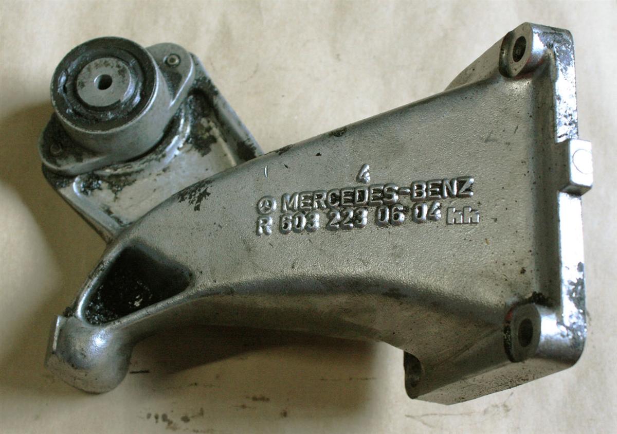Mercedes Engine Support Arm Left Om603 Diesel M103 Gas W126 300sdl Fuel Filter 350sd 350sdl
