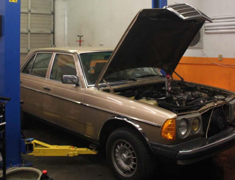 W123 300CD 300D Turbo-Diesel Motor Replacement & Road Testing-- Labor  Estimate