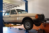 Mercedes W123 300TD Turbo-Diesel Motor Replacement & Road Testing-- Labor Estimate