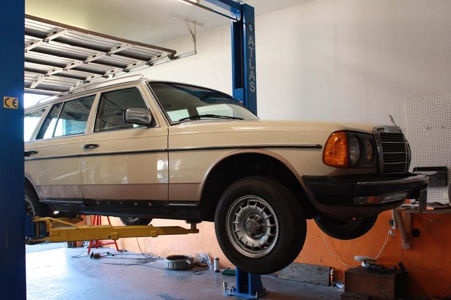 W123 300TD Turbo-Diesel Motor Replacement & Road Testing-- Labor Estimate