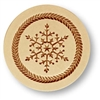 Snow Crystal Springerle Cookie Mold