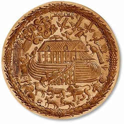 Noah's Ark Springerle Cookie Mold