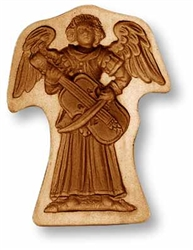 Musician Angel Springerle Cookie Mold