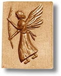 Angel With Palm Leaf Springerle Cookie Mold