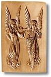 Double Angels Springerle Cookie Mold