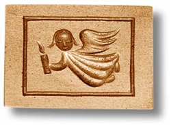 Angel With Candle Springerle Cookie Mold