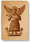 Angel With Mandolin Springerle Cookie Mold, 62 mm x 90 mm