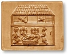 Nativity Manger Scene (Fine) Springerle Cookie Mold
