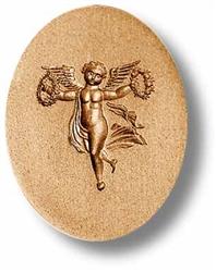 Angel With Wreaths Springerle Cookie Mold
