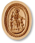 Jesus With The Children Springerle Cookie Mold