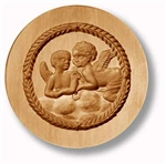 Two Angels In The Clouds Springerle Cookie Mold