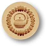 Teapot Springerle Cookie Mold