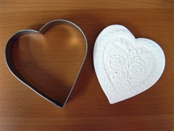 Very Large Heart Cutter 5.0 inch w x 5.0 inch h