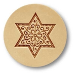 Star With Blossom Springerle Cookie Mold