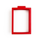 Rectangular Cookie Cutter 58 mm x 40 mm