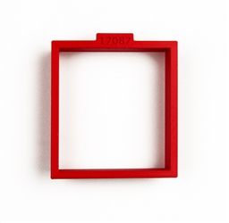 Rectangular Cookie Cutter, 66 mm x 60 mm