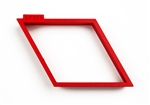 Diamond Shape Cookie Cutter 116 mm x 64 mm