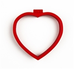 Heart with Tree of Life cookie cutter, 72 mm x 77 mm