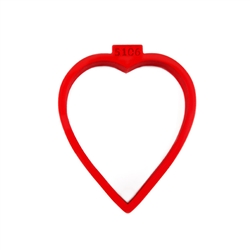 Heart Cutter, 77 mm h x 65 mm w