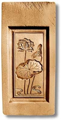 Japanese Blossom Springerle Cookie Mold