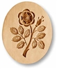 Rose With Buds In Oval Springerle Cookie Mold