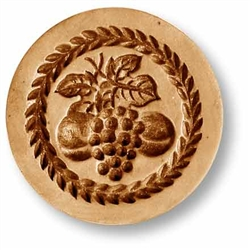 Grapes springerle cookie mold