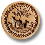 Two Sheep Springerle Cookie Mold