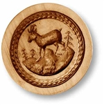 Antelope With Biedermeier Springerle Cookie Mold