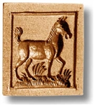 Foal Springerle Cookie Mold
