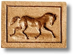 Trotting Horse Springerle Cookie Mold