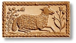 Resting Sheep Springerle Cookie Mold